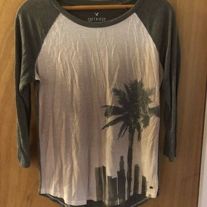 American Eagle Soft and Sexy 3/4 sleeve shirt